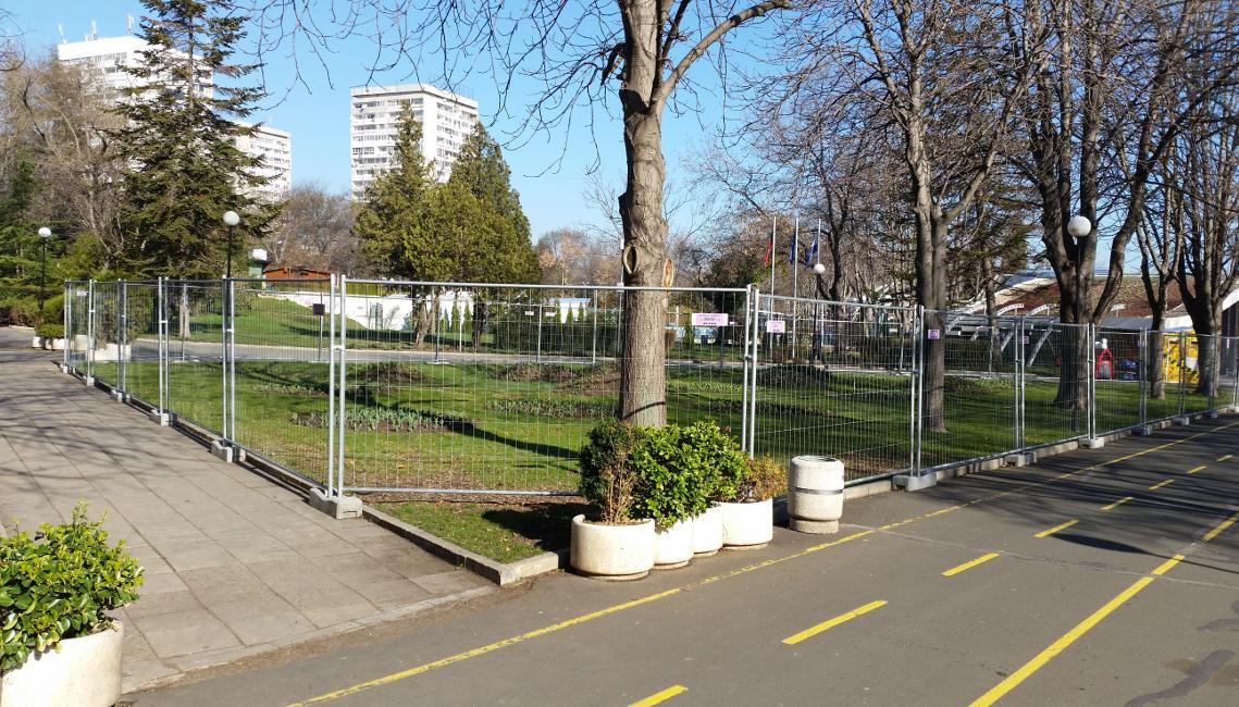 Решетъчни мобилни огради